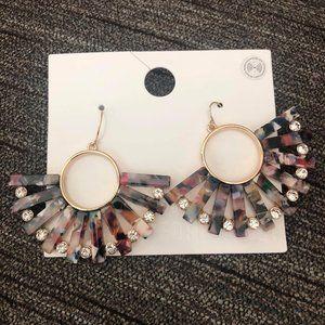 Marble Drop Earrings